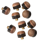Snooker Pool Cue Tips 5 - 100 Pack Soft Leather Screw On 11mm Top Billiards Home £1.99 GBP on eBay