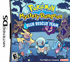 Pokemon Mystery Dungeon: Blue Rescue Team (Nintendo DS, 2006) GAME CARD ONLY A+