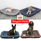 Deluxe Soft Washable Dog Pet Basket Bed Cushion Mattress Kennel Heavy Duty S M L