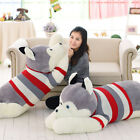 2020 Husky Dog 47'' Plush Toy Giant Big Stuffed Animal Soft Doll Party Xmas Gift