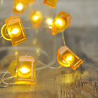 Led Wire Lights, Led String Lights, Battery Operated String Lights With 36 Beer