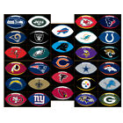 NFL TEAM LOGO FOOTBALL STICKER CHOOSE YOUR TEAM INDOOR USE 30% OFF 2 OR MORE $1.75 USD on eBay