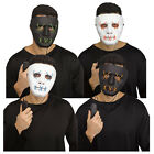 Adult Teen Boys Light Up =Halloween Costume Mask Purge Stitches Red Green Blue
