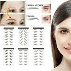9/10Pairs Eyebrow Sticker Grooming Brow Sticker Tattoo False Waterproof O5K0 $1.99 USD on eBay