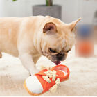 Traning Playing Gift Dog Squeaky Toy Slipper Shape Interactive Bite Resistant