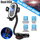 3 in 1 Qi Charging Dock Charger Stand For Galaxy Watch iPhone Cell Phone Station