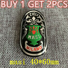 cycling  Bicycle Bike Alloy Head Badge Decals Stickers buy 1 get 2 pcs