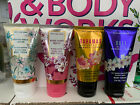 BATH  BODY WORKS BODY CREAM 2.5 OZ. SINGLES HOLIDAY AND MORE CHOOSE SCENT NEW