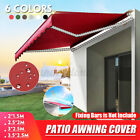 6.5'x4.9' Top Canopy Replacement Sunshade Patio Outdoor Garden Awning Cover US