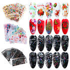 Nail Foils Snowflakes DIY Manicure Christmas Transfer Decals Nail Stickers