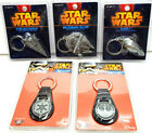 QMX Star Wars Key Chain Collection- Pewter Ships & Key Fob- Your Choice of 5