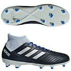 New Womens Adidas Predator 18.3 FG Soccer Cleat Navy/Silver-Pick Size