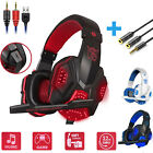 Wired Gaming Headset Stereo Mic Headphones Surround For PC XBOX One PS4 Nintendo