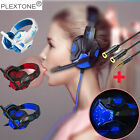 Gaming Headset Stereo Mic Headphones Surround For PC XBOX One PS4 Nintendo Blue
