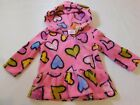 The Children's Place Girl's Long Sleeve Fleece Hoodie Hearts Size Variations