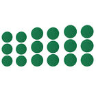 Set of 6 Green Felt Pads Replacement for Air Hockey Table Felt Pusher Mallet -