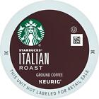 Starbucks Italian Roast Coffee 22 to 132 Count Keurig K cups Pick Any Quantity