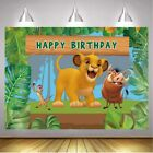 Lion King Backdrop Boys Birthday Party Background Baby Shower Photo Decor Prop