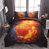 NTBED Basketball Comforter Sets for Boys Teens, 3-Pieces Sports Bedding Comforte