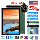 """2020 10.1"""" Wifi Tablet Android 9.0 8g+128g 10 Core Pc Google Gps + Dual Camera"""
