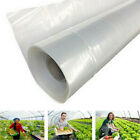 KQ_ Clear Plastic Greenhouse Film Thickness Cover Plastic Covering Sheet Latest
