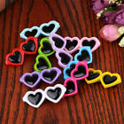 New Pet Lovely Heart Sunglasses Hairpins Pet Dog Bows Hair Clips  1pc