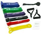 Exercise Resistance Bands Set w/ Handles  Door Anchor, Pull Up Assist Long Loop