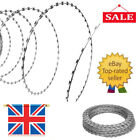 NATO Razor Wire Helical Wire Roll Galvanized Steel Barbed Coil Fence Safe Tool