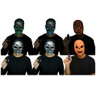 Adult Teen Light Up Scary Skull Pumpkin Glow Purge Halloween Costume Face Mask
