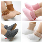 Newborn Baby Boy Girl Warm Shoes Toddler Faux Fur Snow Boots Infant Kids Booties
