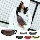Women  Waist Belt Pack Casual Shoulder Messenger Bags Zipper Chest Money  Purse