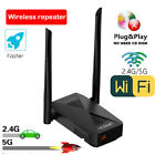 Wireless repeater WiFi Booster Signals Extender 802.11b/n/g/ac 2.4G/5G RJ45 5ghz