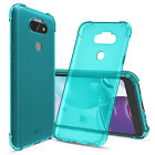 CBUS Flex-Gel Silicone TPU Case for LG K31 and LG K8X - Green, Turquoise, Purple