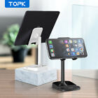 Topk Cell Phone Stand Desktop Adjustable Cradle Holder Desk Mount Mobile Phone