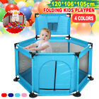 Portable Baby Safety Dotted Playhouse Playard Play Yard Mesh Indoor Outdoor Home