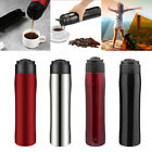 Portable Coffee Travel French Press Insulated Mug Coffee Maker Bottle 350ml