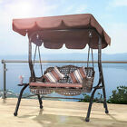 """2-3 Seaters Swing Top Cover Replacement Canopy Porch Park Patio Outdoor 77""""x49"""""""
