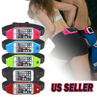 Waterproof Jogging Running Sports Waist Bag Belt Bum Pouch Cell Phone Zip Bag