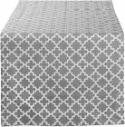 DII Lattice Cotton Table Runner for Dining Room, Foyer Table, Summer Parties and
