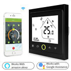 WiFi Thermostat Touch Screen Backlight for Water Heater Underfloor Heating Works