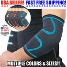 2x Elbow Brace Compression Support Sleeve Arthritis Tendinitis Joint Pain Relief