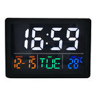 Electronic Table Digital Alarm Clock Bedside Clock Study Nightstand Decors