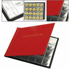 60/96/240 Coins Album Book Folder For Collection Storage 50p £2 £1 Money Penny