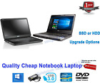 Cheap Fast Windows 10 Student Laptop Netbook Core 2 I3 I5 2.50ghz 8gb 200gb Ssd