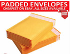 Strong Gold White Padded Postal Bubble Lined Envelope Mailers - TOP PRICE