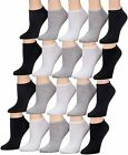 Tipi Toe Women's 20 Pairs Colorful Patterned Low Cut/No Show Socks
