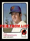 1973 Topps #2-219 EX/EX-MT Pick From List All PICTURED