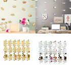 18pcs Removable Kids Room Diy Home Decoration Art Gift 3d Mirror Wall Sticker