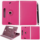 "Rotating 360° PU Leather 7"" 9.7"" 10 inch Stand Case Cover For Android Tablet PC"