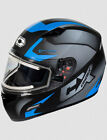 Castle X Mugello Squad Electric Shield Snow Helmet Matte Blue